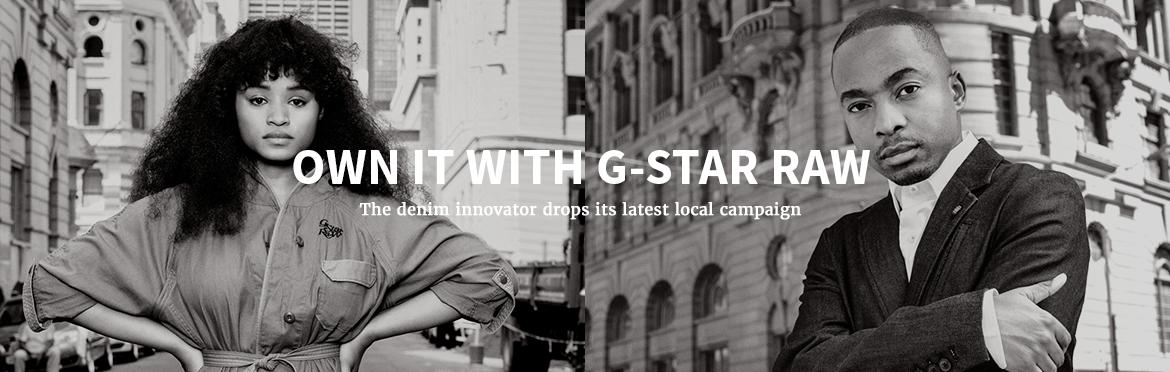 Own it with G-Star RAW