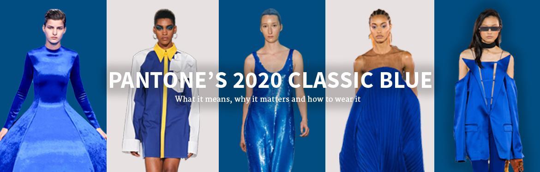 PANTONE'S 2020 CLASSIC BLUE