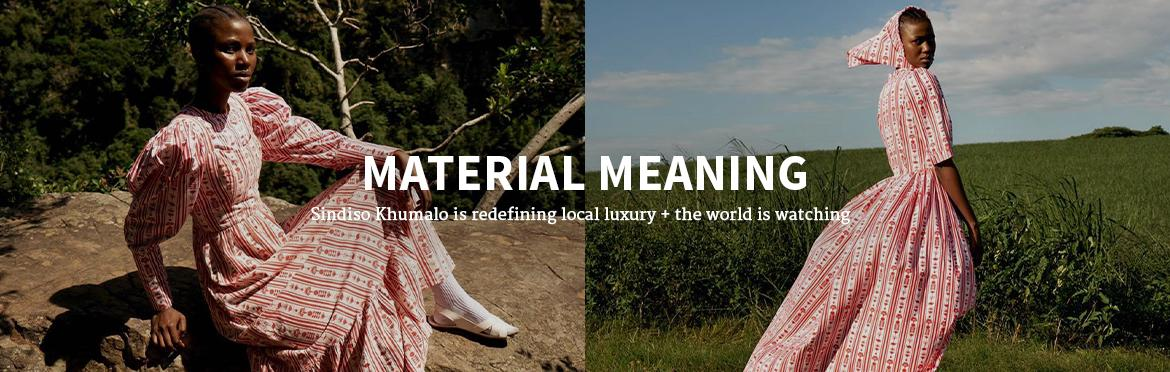 MATERIAL MEANING