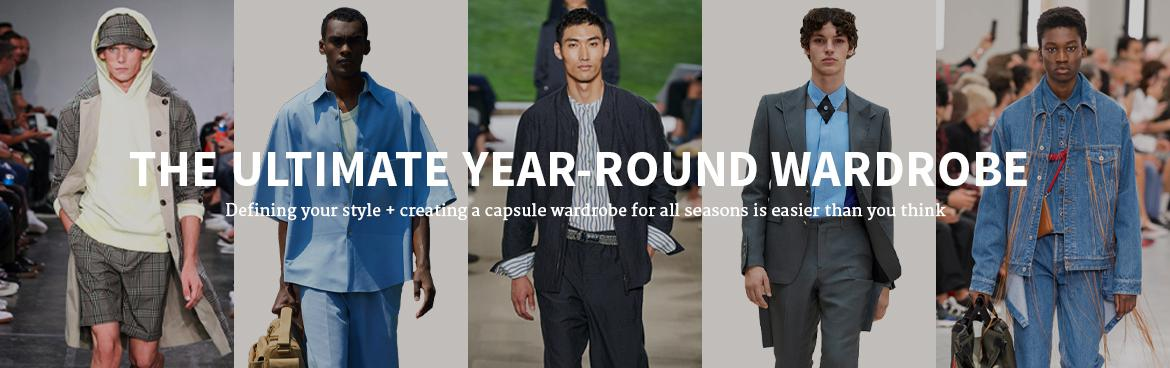 HEAD-TO-TOE: THE ULTIMATE YEAR-ROUND WARDROBE