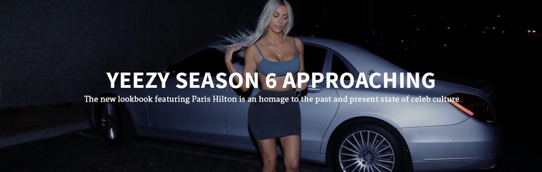 Yeezy Season 6 Approaching