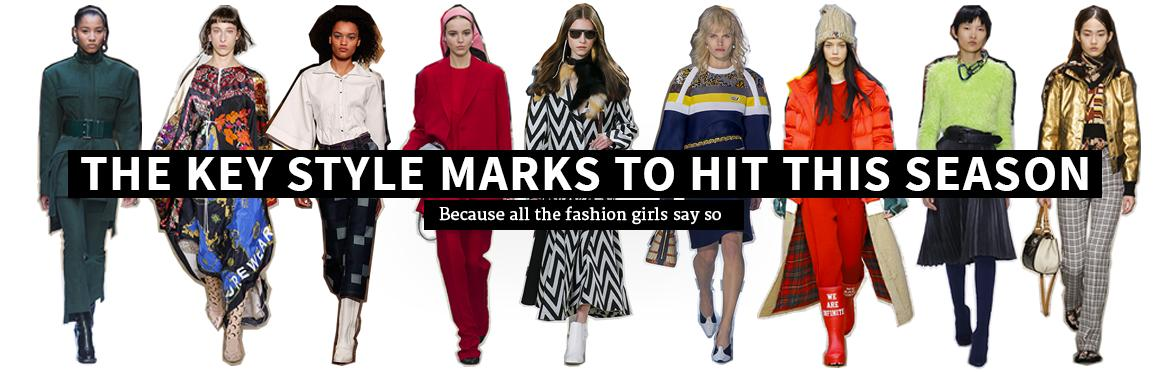 The Key Style Marks to Hit This Season