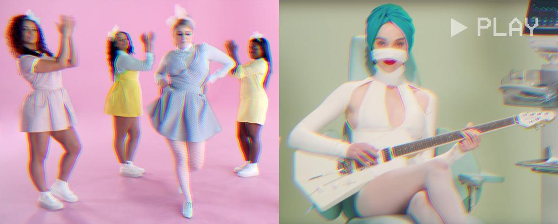 colourful music videos