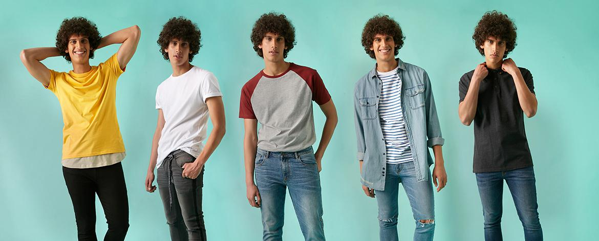 300ab8f73ffbda How to wear jeans and a T-shirt
