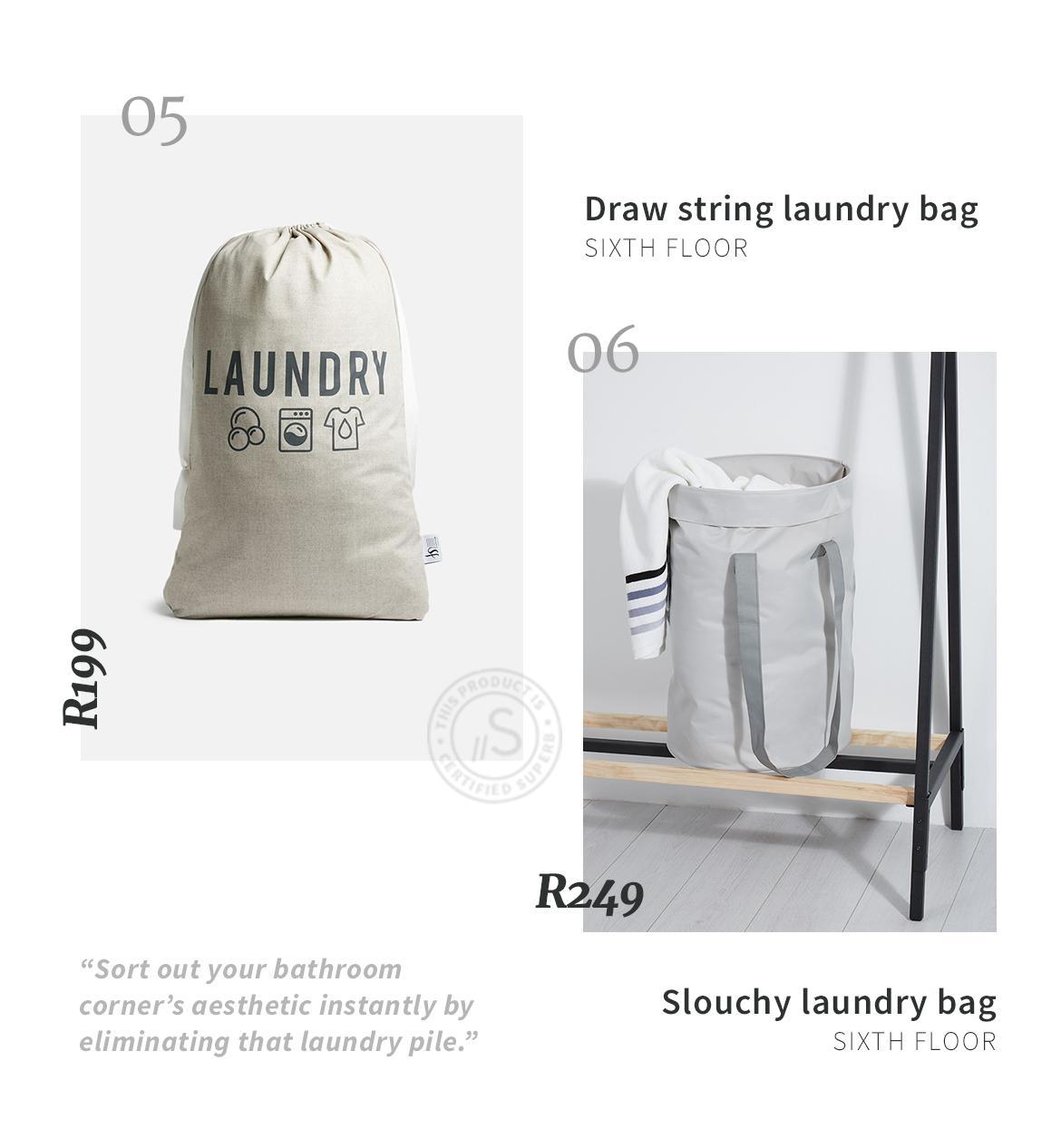 Superbalist laundry bag