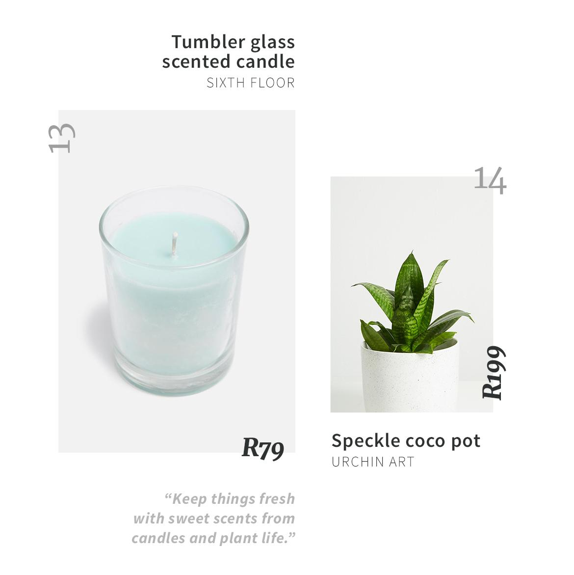 Superbalist scented candles