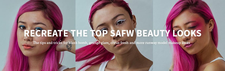 Recreate The Top SAFW beauty looks
