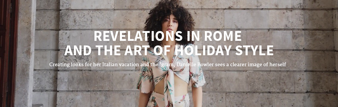Revelations in Rome and the Art of Holiday Style