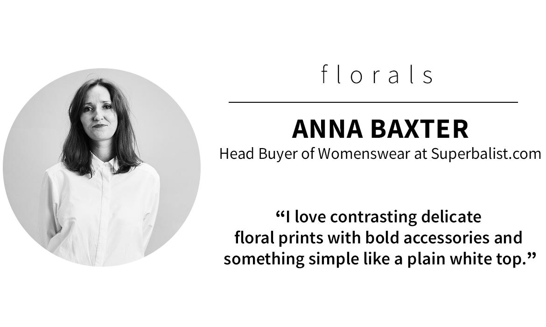 panel picks: Anna Baxter