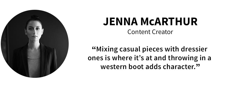 Panel Picks: Jenna McArthur