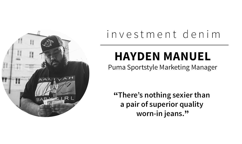 panel picks: Hayden Manuel