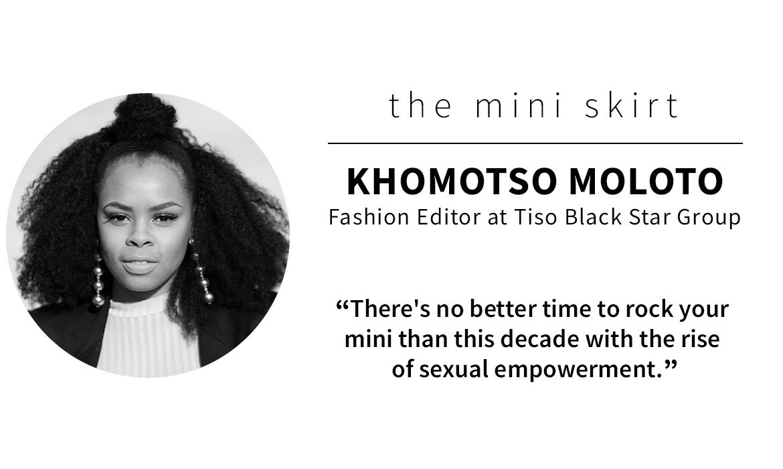 panel picks: Khomotso Moloto