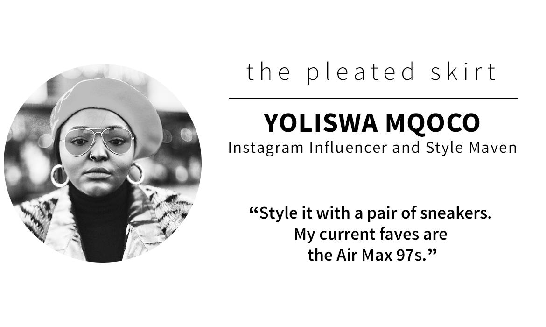 panel picks: Yoliswa Mqoco