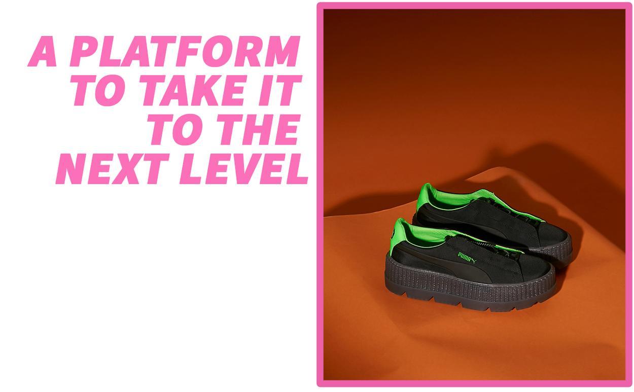 PUMA basket platforms