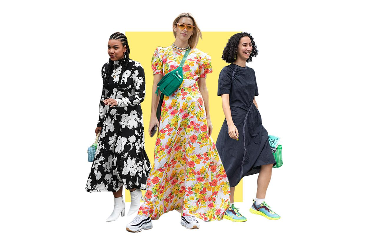 How to turn a dress into three looks
