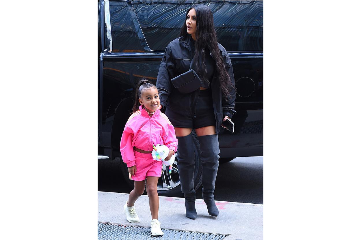 Kim Kardashian West - Active mom