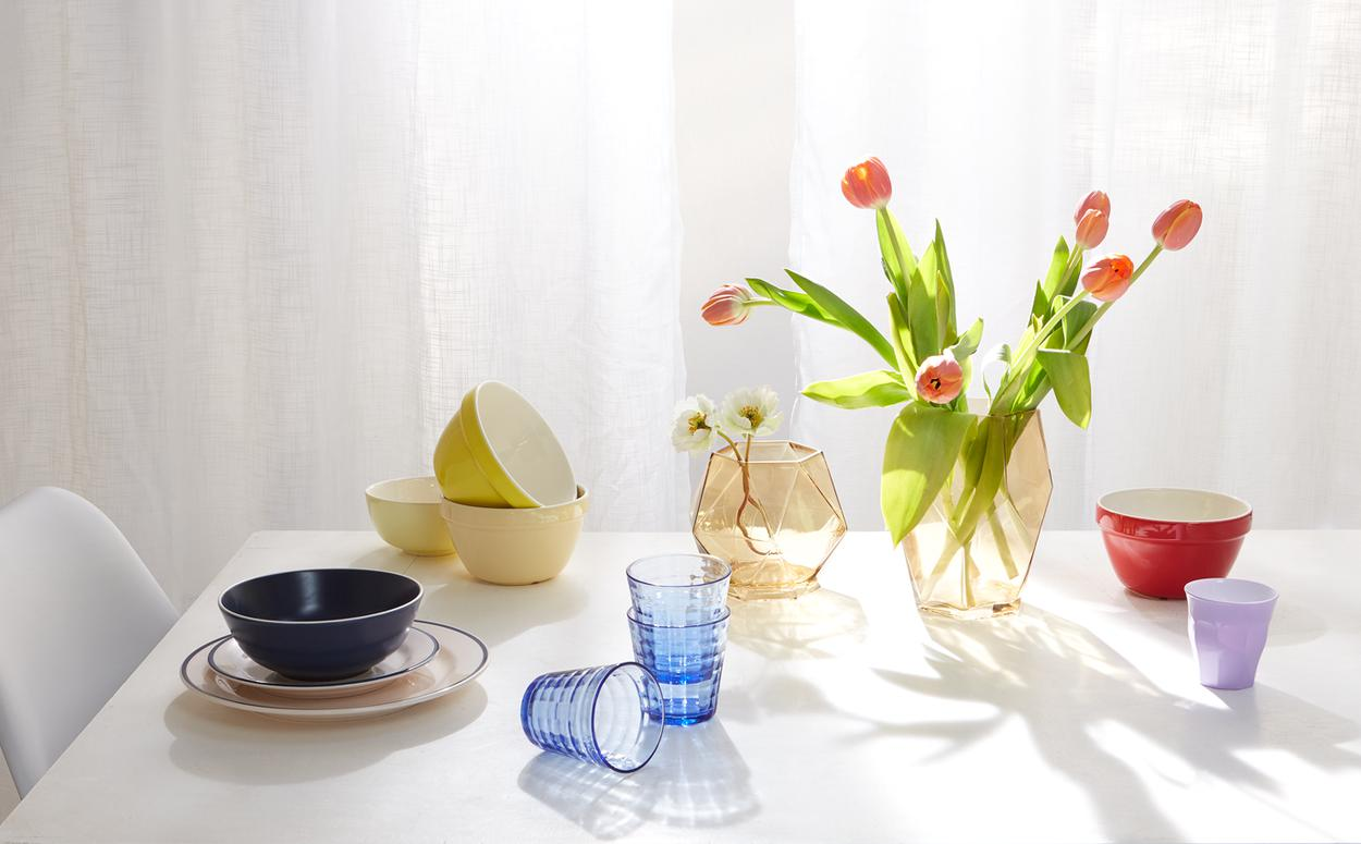 Primary colour table setting