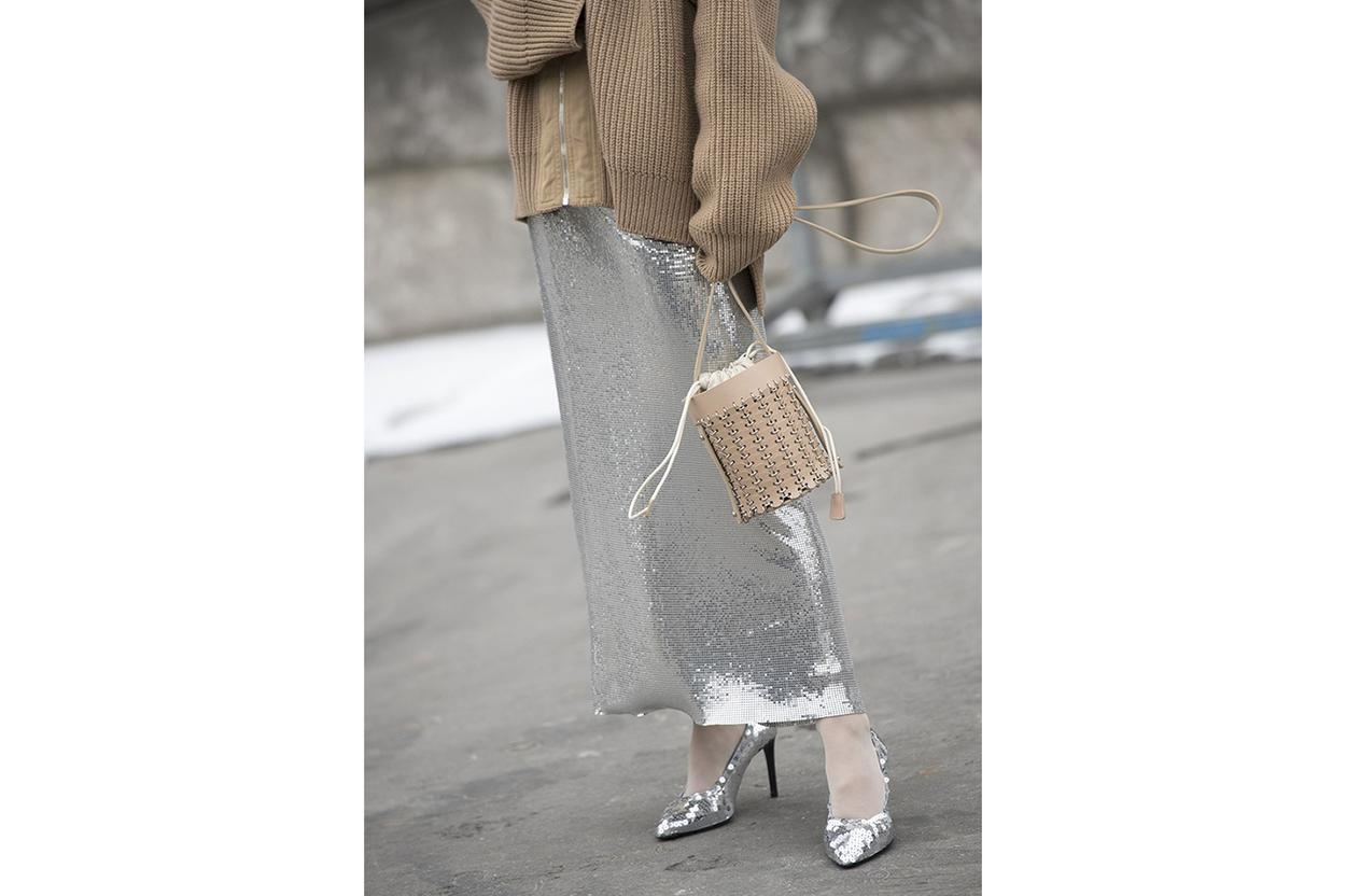 skirt and knit