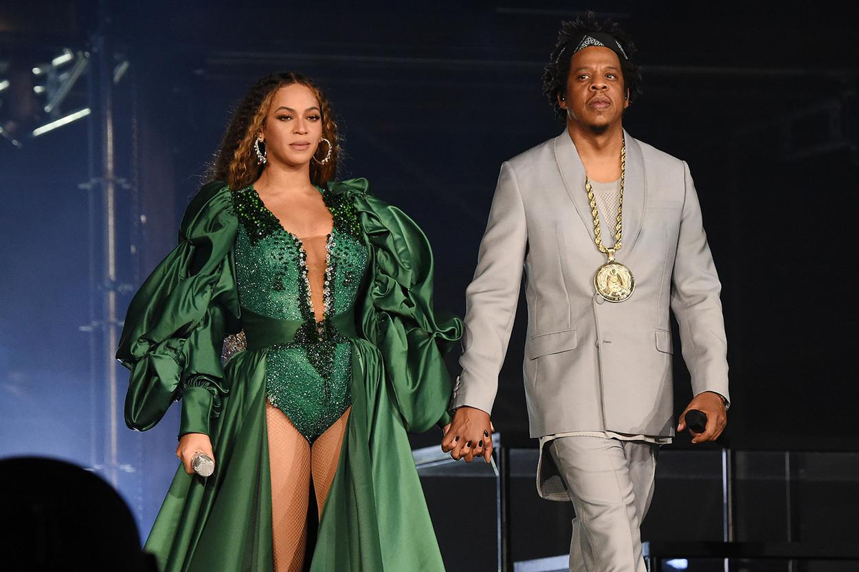 Beyonce outfits from the recent Global Citizen Festival