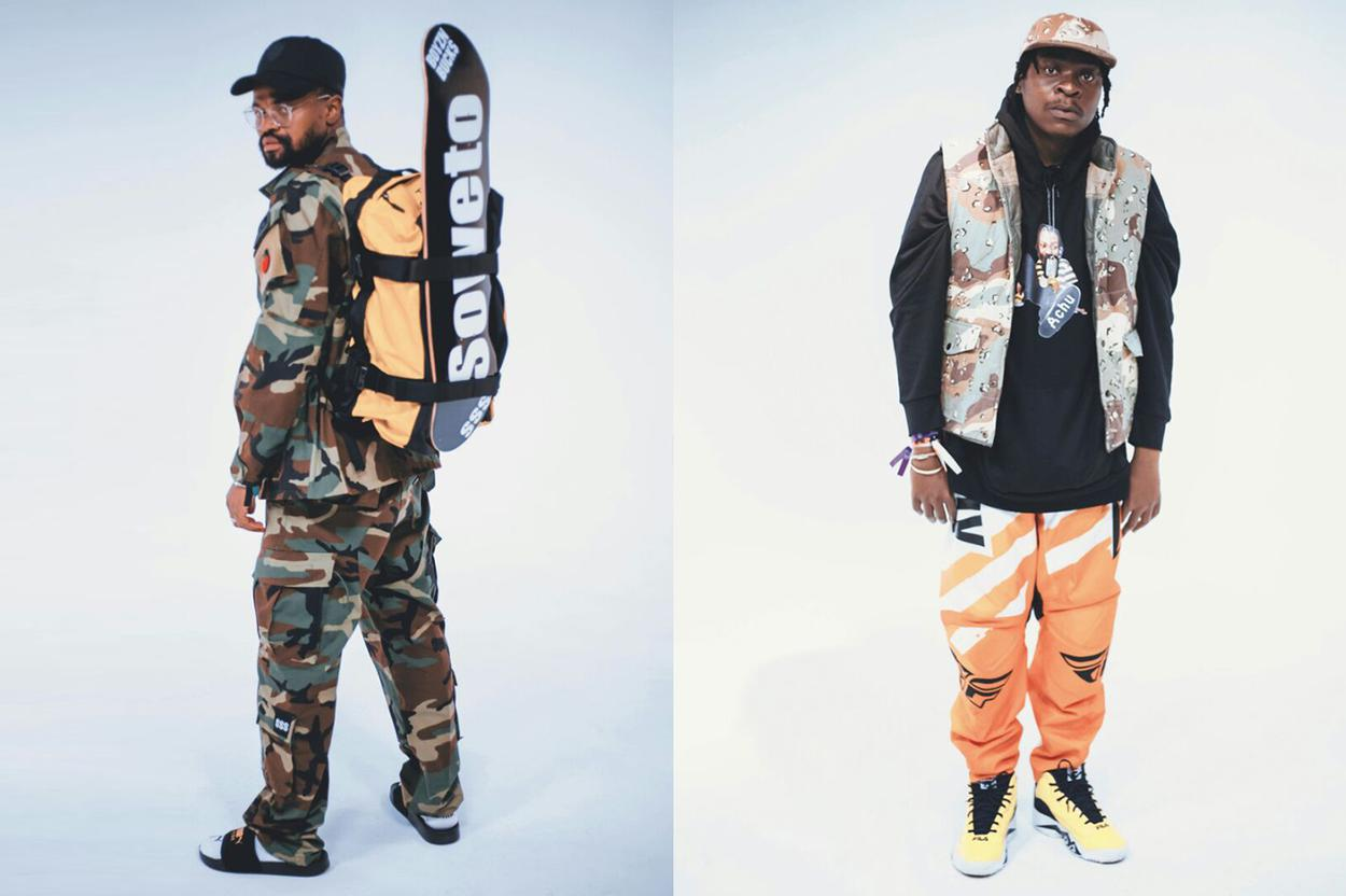 10 menswear trends we spotted on Stilo Magolide's 'Combo'