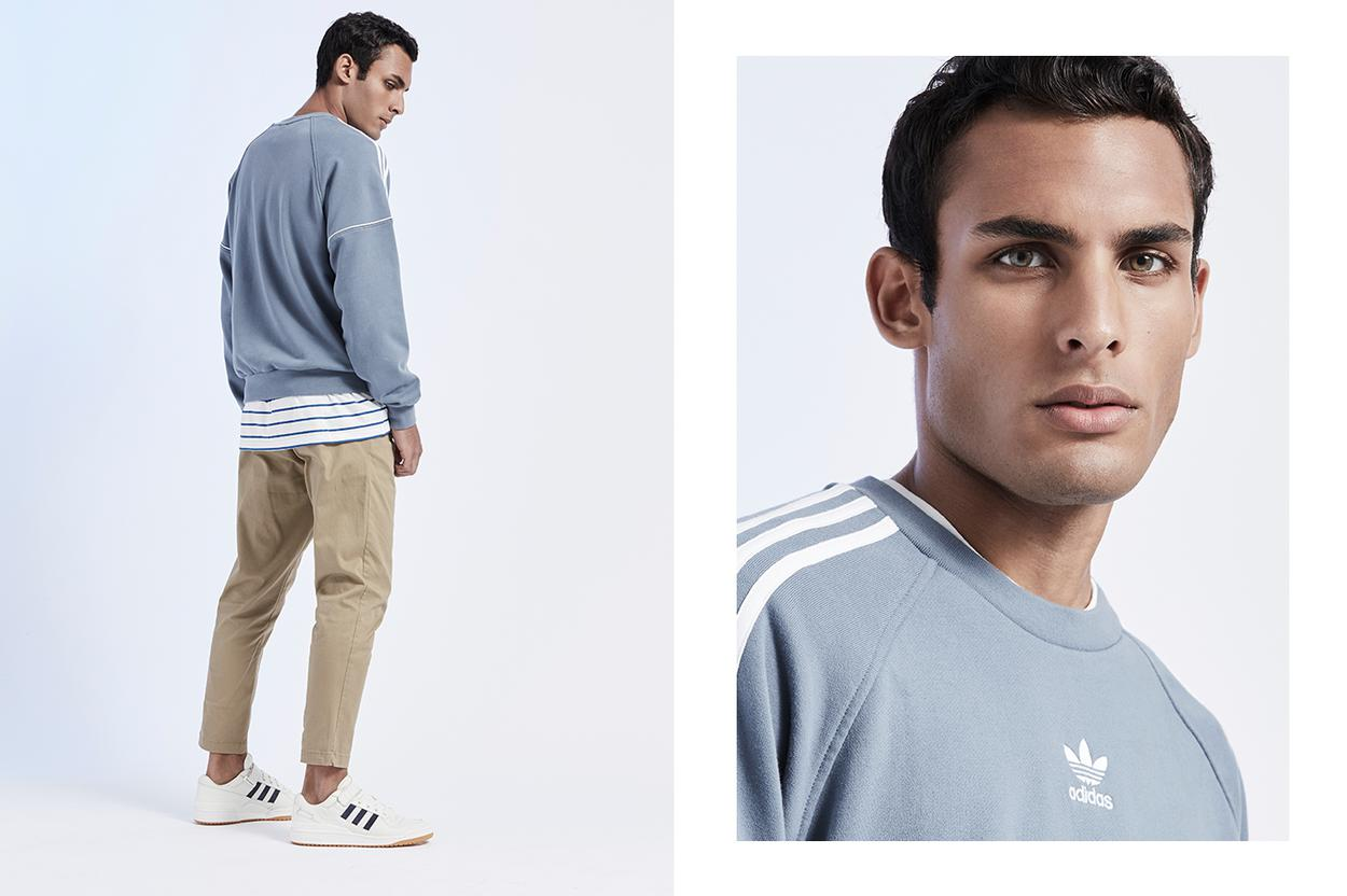Get on track with sweats