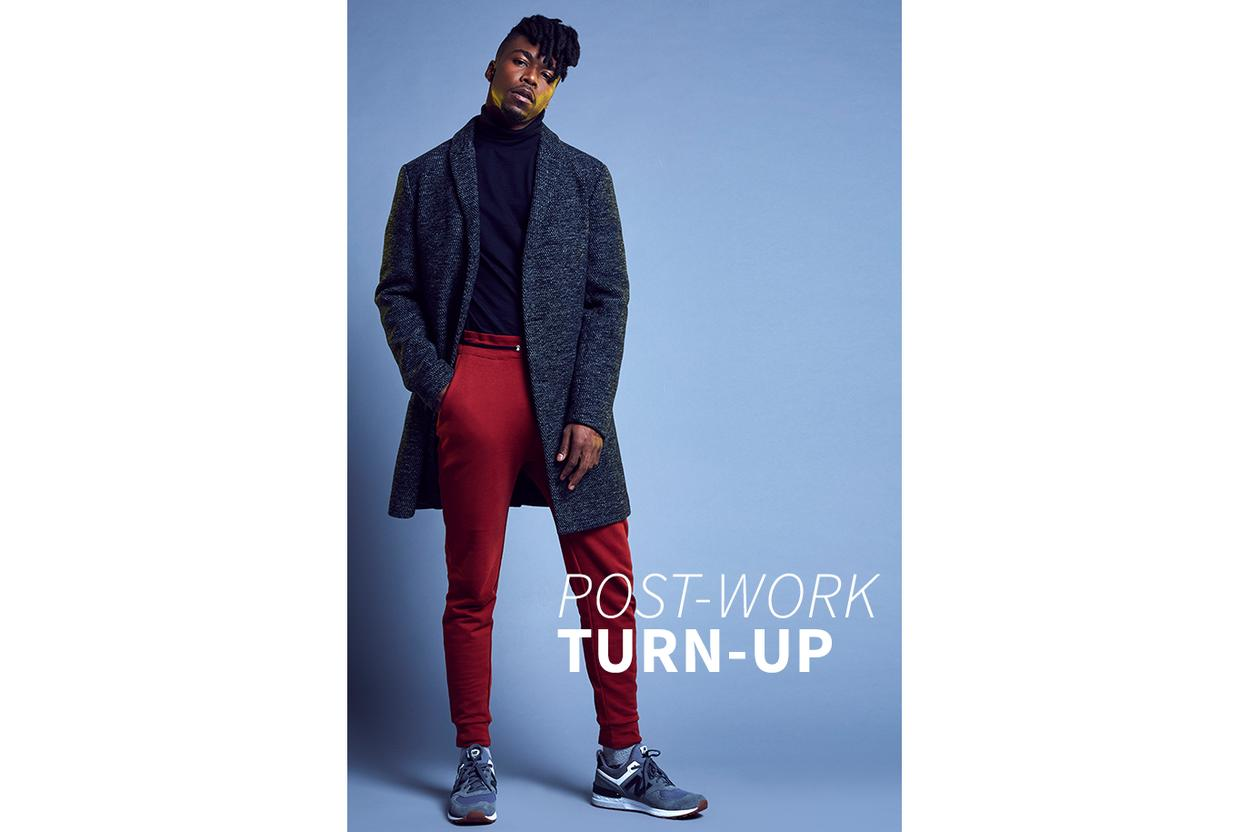 Wear your sweatpants to work