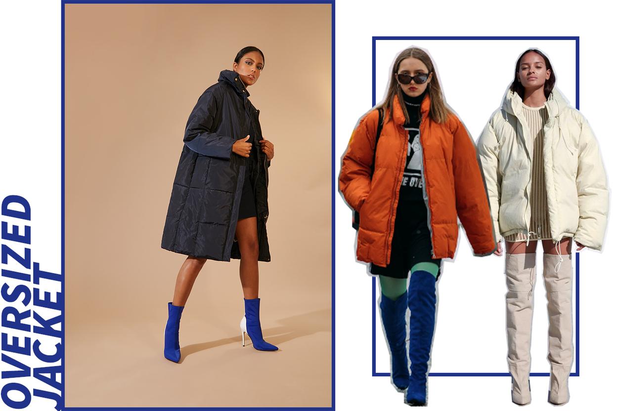 gorpcore: oversized jacket