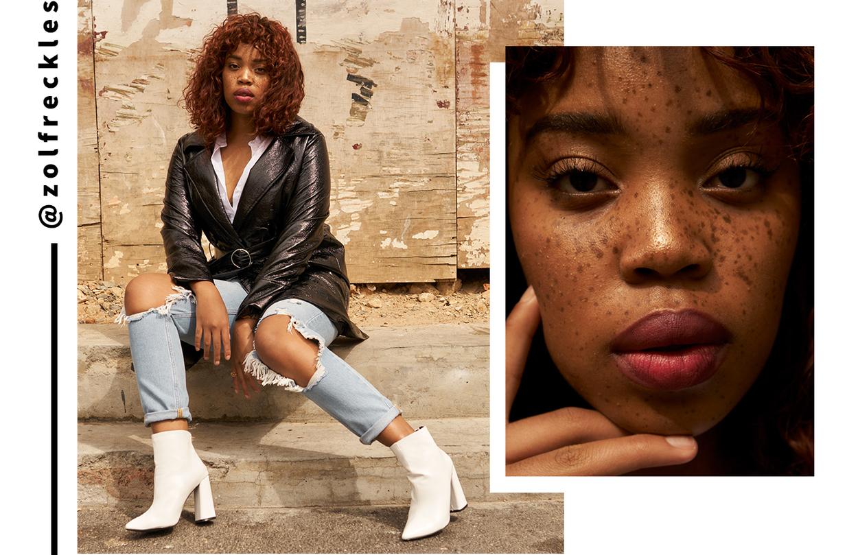 Zoliswa Mbadu - the white boots