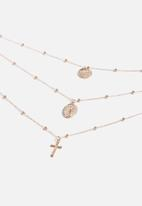 Superbalist - Zania layered necklace - gold