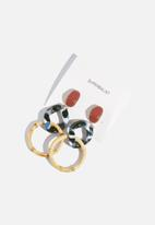 Superbalist - Mischa statement earrings - multi