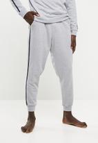 Superbalist - Piping slim sweat jogger - grey