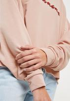 Missguided - Calabasas cropped sweat - pink