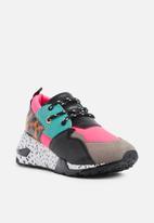 Steve Madden - Colour-block sneaker - multi