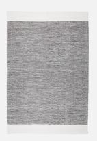 Sixth Floor - Jolie rug - charcoal & white