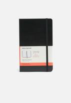 Moleskine - 2019 A5 hardcover daily diary - black