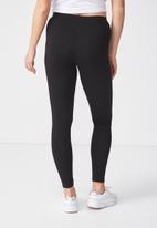 Supré  - Full length legging - black