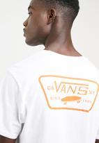 Vans - Full patch tee - white
