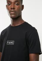 Vans - Vans easy box tee - black