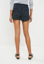 ONLY - Turner woven shorts - navy
