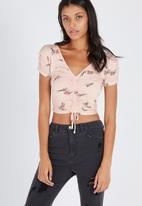 Supré  - Rouched top - pink