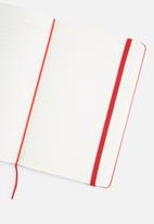 Moleskine - 2019 A5 hardcover daily diary - scarlet red