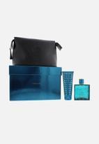 Versace - Versace Eros Edt 100ml & Sg 100ml &Black Bag (Parallel Import)