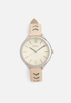Fossil - Fossil suitor women leather watch - multi