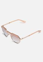 Diesel Eyewear - DL0260 34U - Rose gold & pink