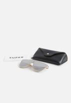 SUPER By Retrosuperfuture - Lenz flat top - silver