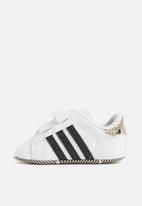 adidas Originals - Baby Superstar - white and black baby