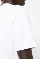 KAPPA - Logo fers tee - white