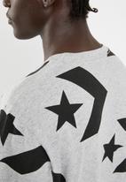 Converse - Converse star chevron print tee - grey