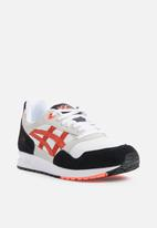 Asics Tiger - Gelsaga - white & flash coral