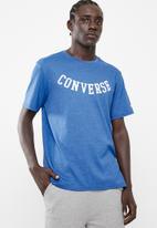 Converse - Converse reverse athletic arch tee - blue